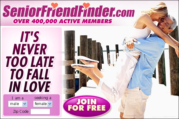 Couple who met on Senior Friend Finder